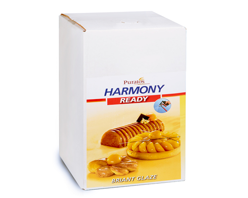 Abricot Glaze Harmony Brillant Ready Puratos12 Kg
