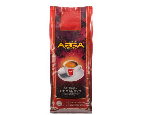 Agga Café Espresso Romanovo Grains  1 Kg