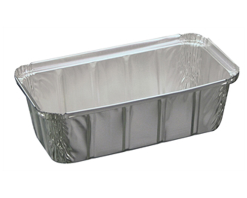 Alcan Aluminum 2Lb Rectangular Container Bread Pan 300Un