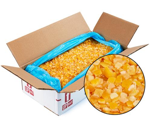 Aptunion Candied Orange Peel Cubes 5 Kg