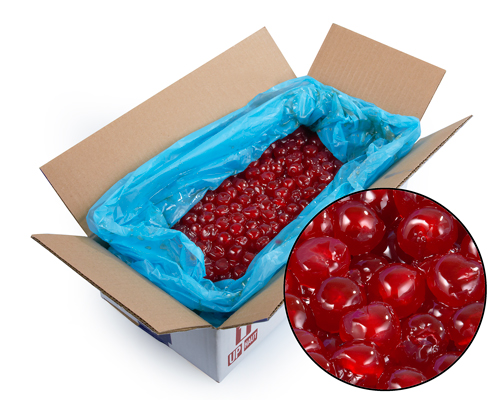 Aptunion Candied Red Cherries #1 20/22 5 Kg