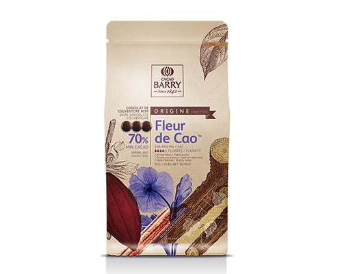 Barry Dark Chocolate Pistoles 70% Cao Flower 5 Kg