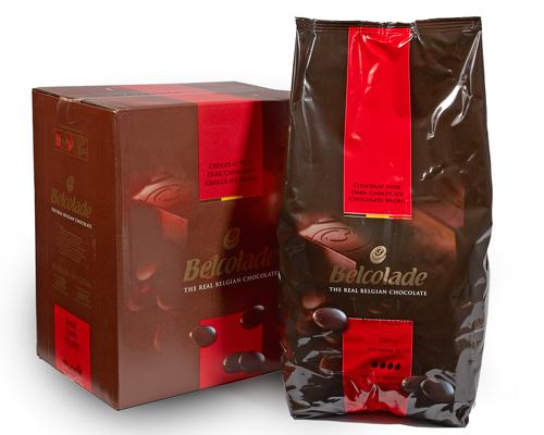 Belcolade Dark Chocolate Pistoles 56% 10 Kg