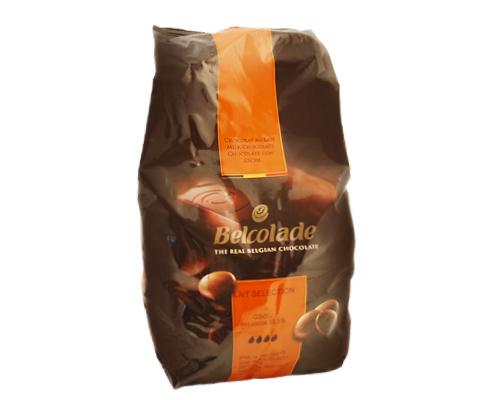 Belcolade Milk Chocolate Pistoles 34% 10 Kg