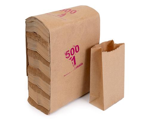 Brown Grocery Bag 1 Lb Box 500