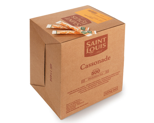 Brown Sugar Stick 500X5gr Saint Louis
