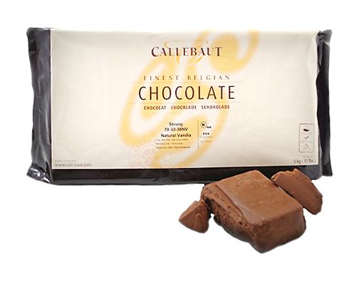 Callebaut Dark Chocolate Block 70% 70-30-38 5 Kg