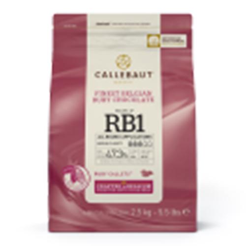 Callebaut Ruby Couverture 4X2.5Kg