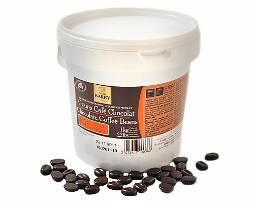 Chocolate Shaped Like Coffee Beans For Decoration 1 Kg