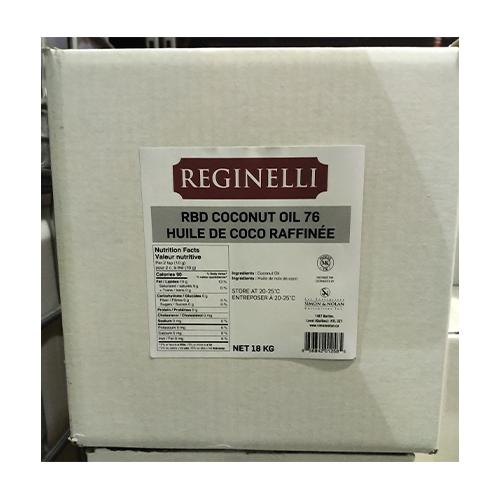 Coconut Oil Rbd Reginelli 20 Lt