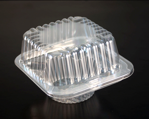 Container Hinged Muffin (1) 5 1/2 X 5 X 3 7/16 400Units