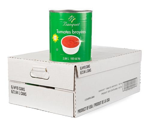 Crushed Tomatoes 6X2.84L
