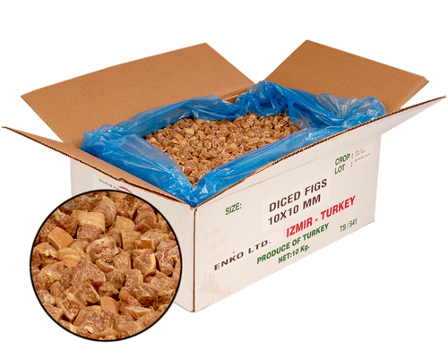 Diced Figue 10 Kg      (10 Mm X 10 Mm )