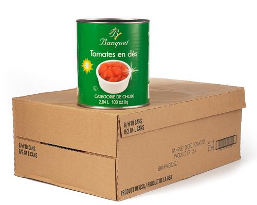 Diced Tomato 6X2.84L