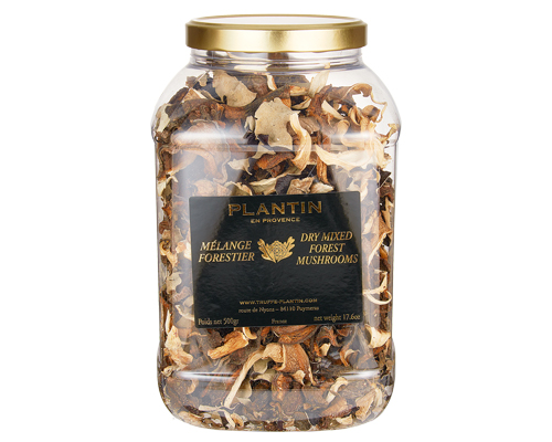 Dry Mixed Forest Mushrooms 500 Gr  Plantin