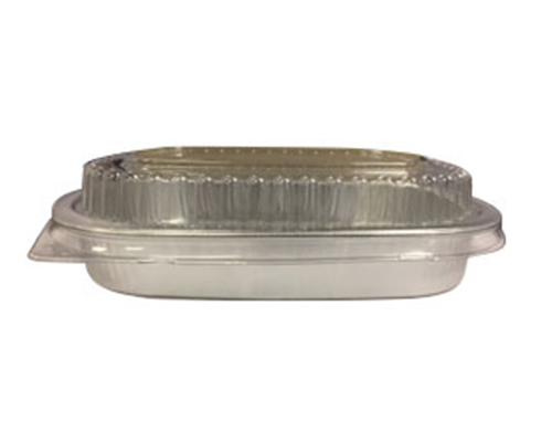 Entree Platine With Dome 4''X 6 ''  16 Oz / 100  Units