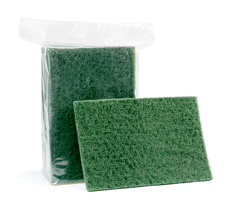 Green Cleaning Pad 10Un