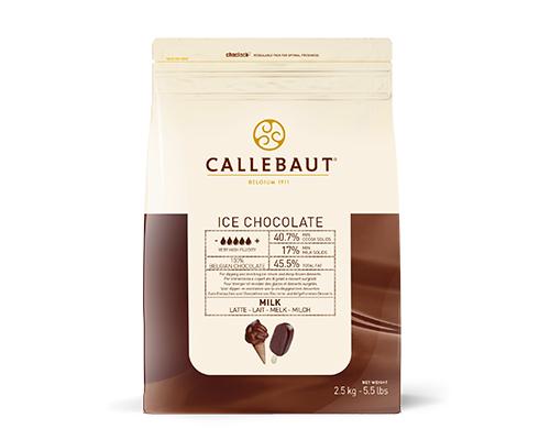 Ice Chocolate Dipping Milk 40%  4X2.5Kg