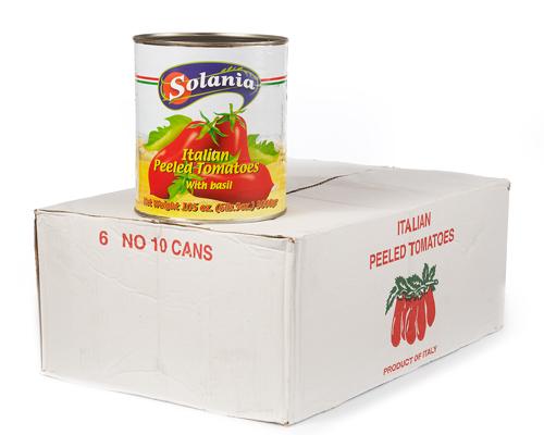 Italien Peeled Tomatoes 6X2.84L Solania
