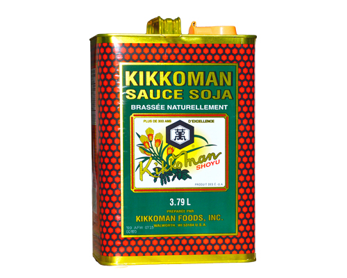 Kikkoman Soya Sauce 3.78 Lt