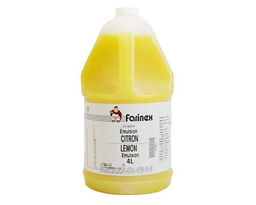 Lemon Liquid Emulsion 4 Litres Cebon