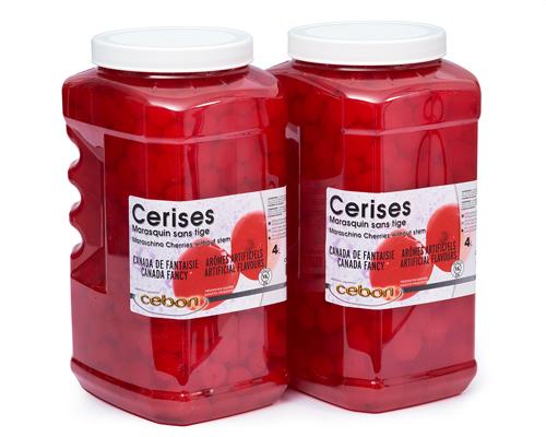 Maraschino Cherry Without Stem 2X4 Lt