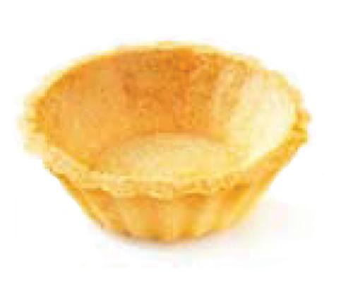 Mini Neutral Fluted Shortbread Pie Shell 5Cm 480Un Pidy