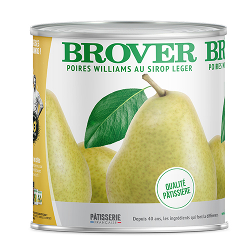 Mini Pears 14/18 With Light Syrup 850 Ml Brover