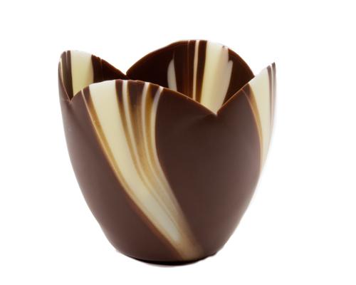 Mona Lisa Tulip Cups Marbled 63 Mm X 70 Mm 36 Units