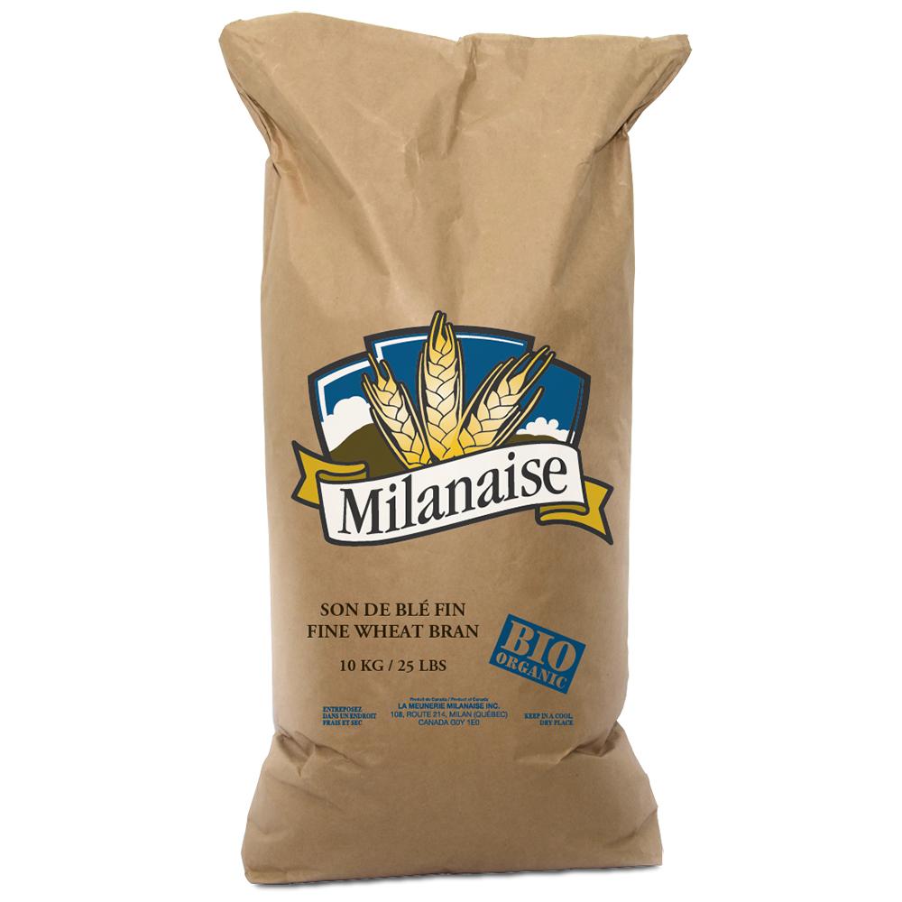Organic Bran Wheat 10 Kg