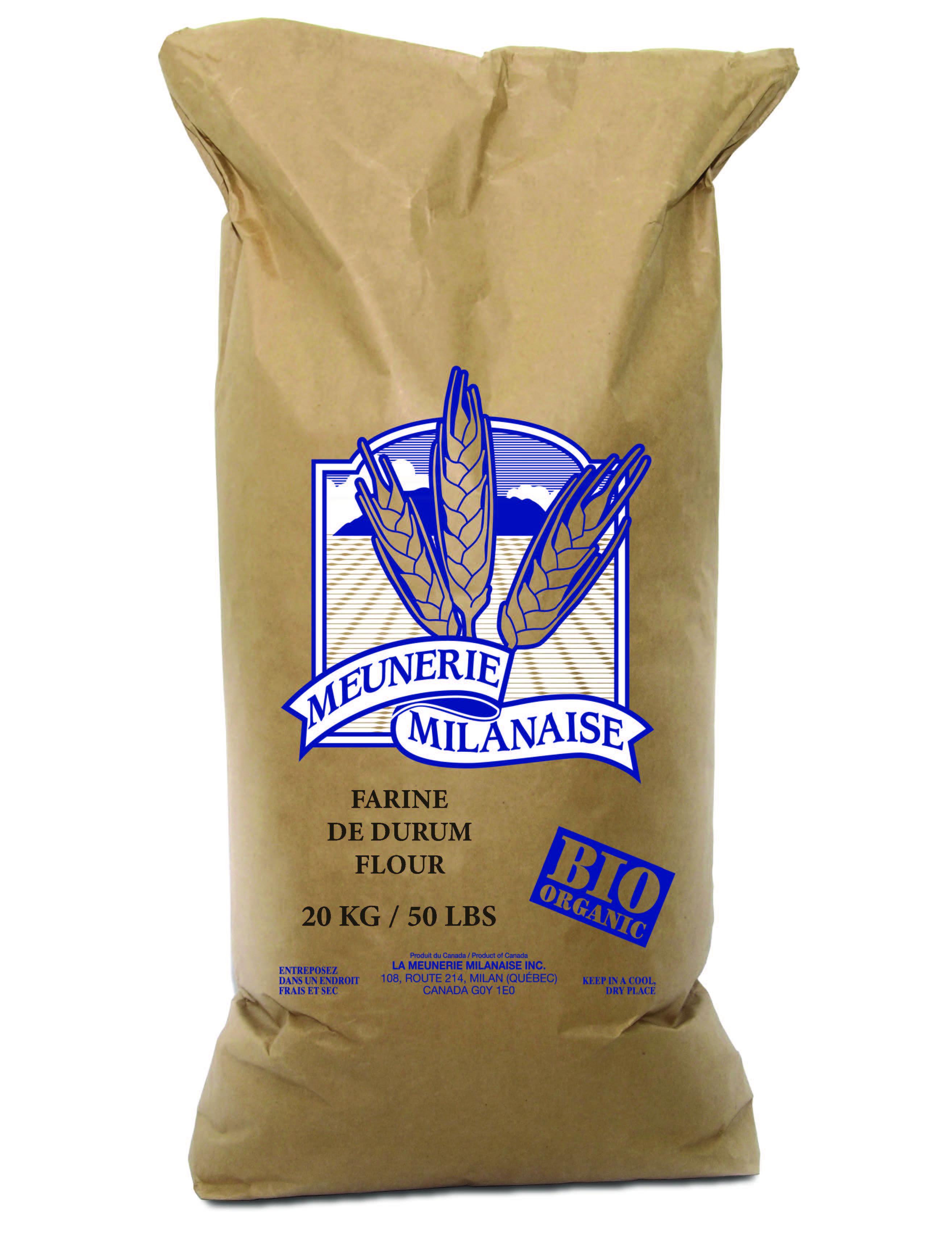 Organic Durum Flour 20 Kg