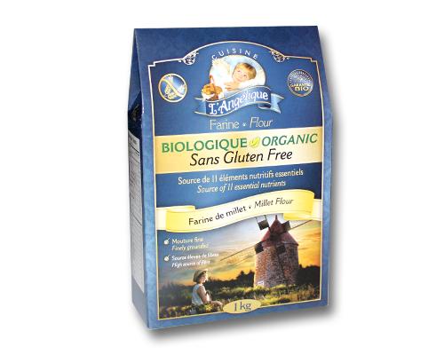 Organic Gluten Free Millet Flour 6X1kg Cuisine Angélique