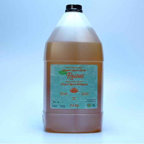 Organic Natural Agave Syrup 5.6Kg