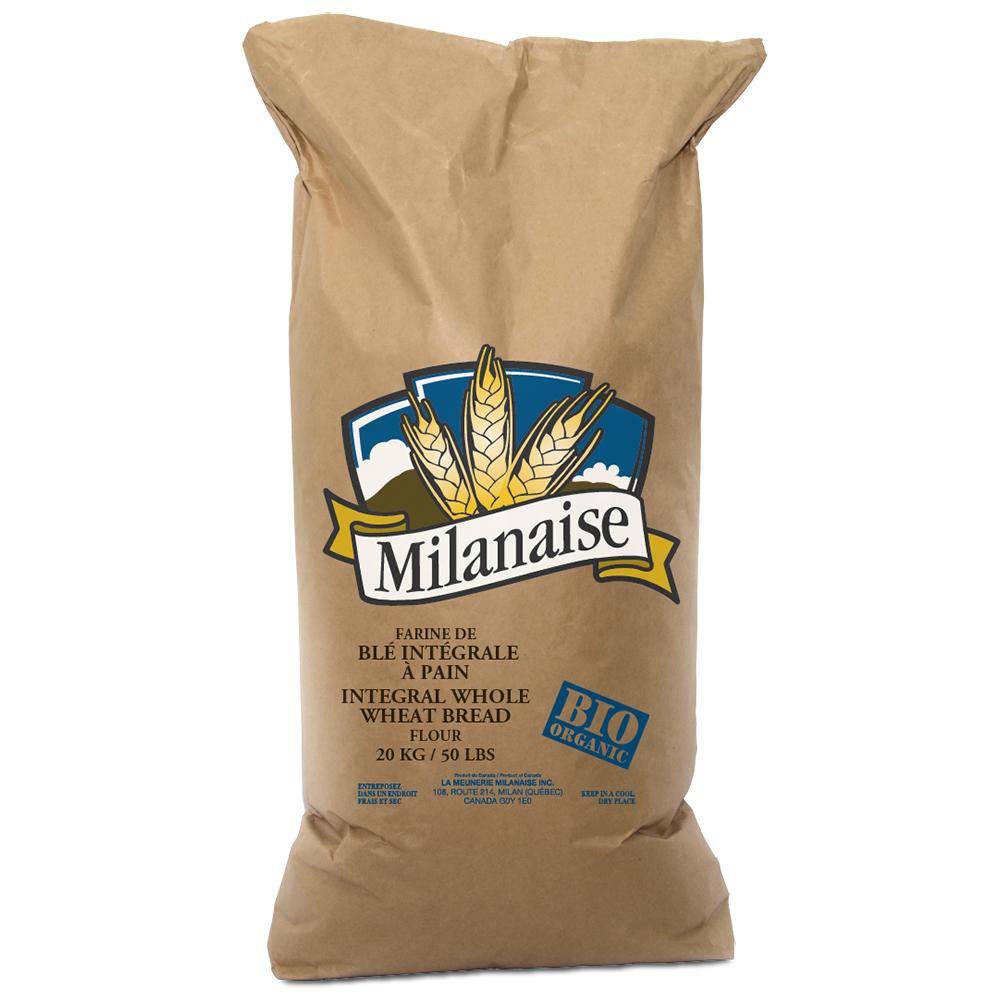 Organic Whole Grain Flour 20 Kg
