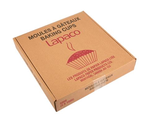 Paper Cake Moulds 830 (3.5X1.5X1) Qt 5000