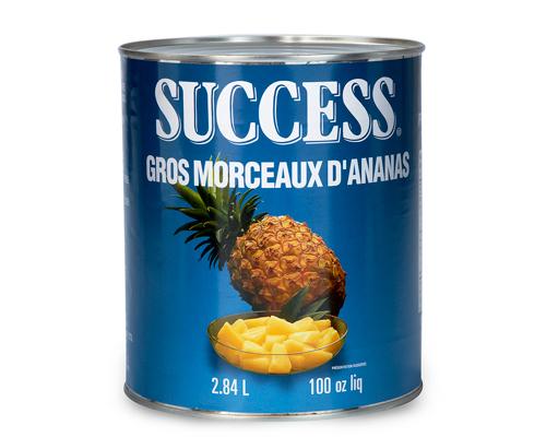 Pineapple Pieces 6X2.84 Lt
