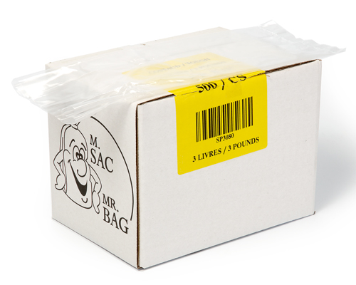 Poly Bag 3 Lb 5/2/11 Box 500