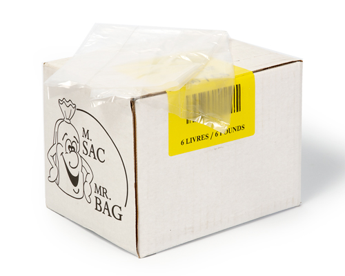 Poly Bags 6 Lb 5/3/15 Box 500
