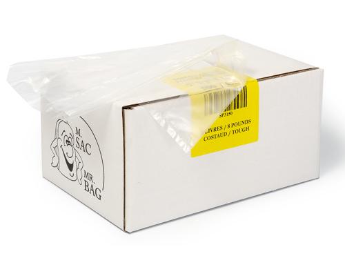 Poly Bags 8 Lb 7/3/16 Box 500