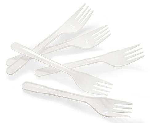 Pro - Forks (Ppr) White 1000 Units