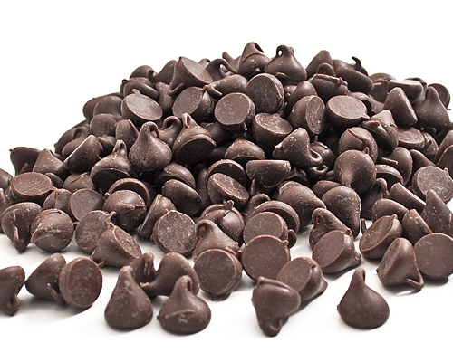Pure Chocolate Chips 1000Ct 3117-1 12 Kg