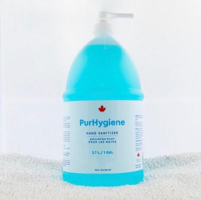 Purhygiene Gel Hand Sanitizer 70% 3.7L