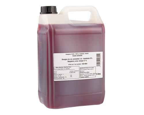 Raspberry Vinegar 5L Fuchs Saveurs