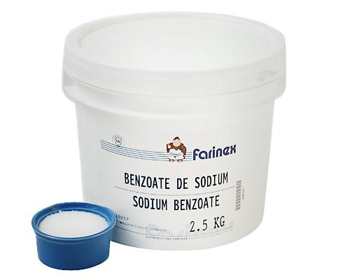 Sodium Benzoate 2.5 Kg Cebon