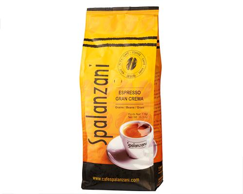 Spalanzani Café Espresso Gran Crema Grains 1 Kg