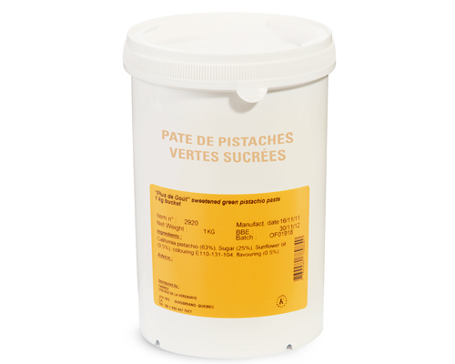 Sweet Green Pistachios Paste 1Kg