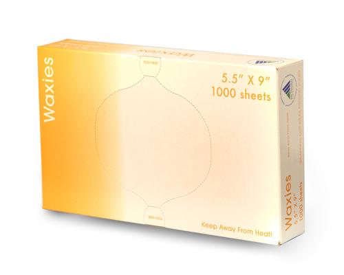Wax Paper 5.5X9 1000