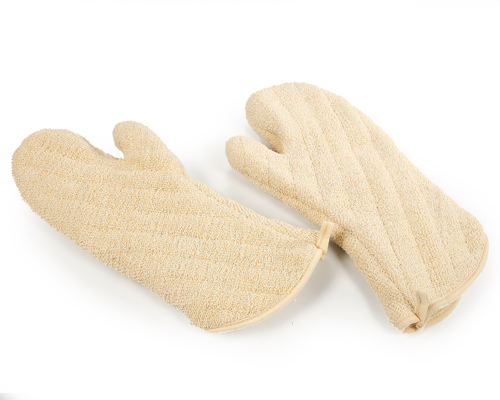 White 16'' Oven Mitts