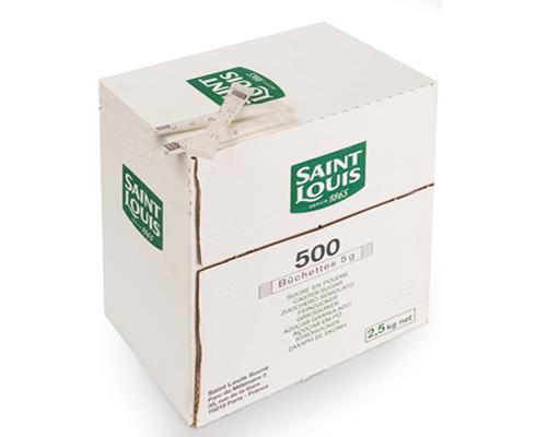 White Sugar Stick 500X5gr Saint Louis