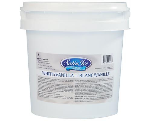 White Vanilla Ice Rolled Fondant 10 Kg Satin Ice